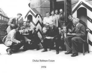 Dicke Bohnen Essen 1954